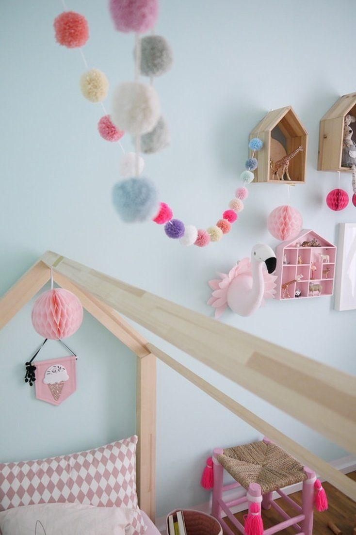 kinderzimmer madchen deko und einrichtungsideen wanddeko kinder zimmer weihnachtliche wanddekoration holz metall