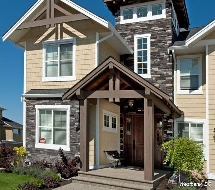 Home exterior black rundle country ledgestone cultured for Country home and hearth