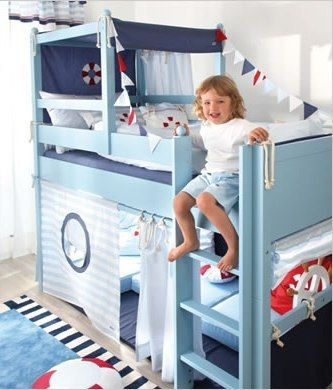 Punkin Patch Interiors - Lifebuoy Mid Sleeper Bed, £3,540.00 (http://www.punkinpatch.co.uk/lifebuoy-mid-sleeper-bed/)