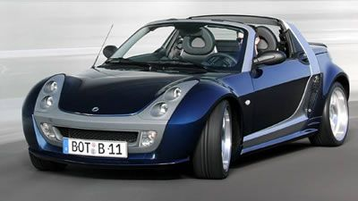 Smart roadster, the one of my favor car!