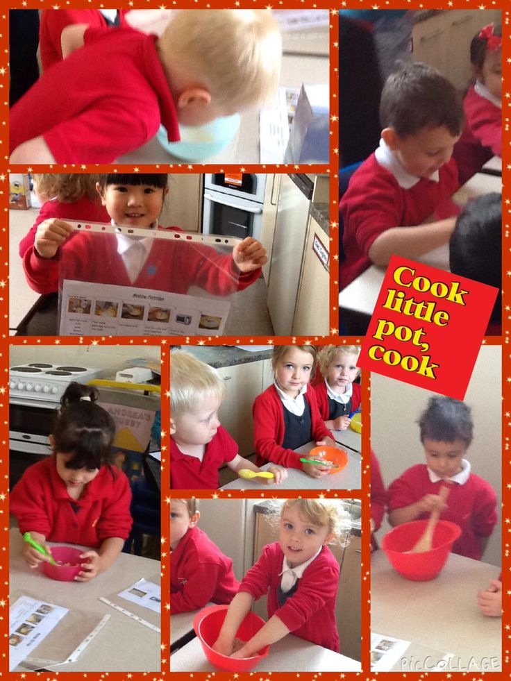 The Magic Porridge Pot! We all followed instructions, made & tried porridge. Yum yum!