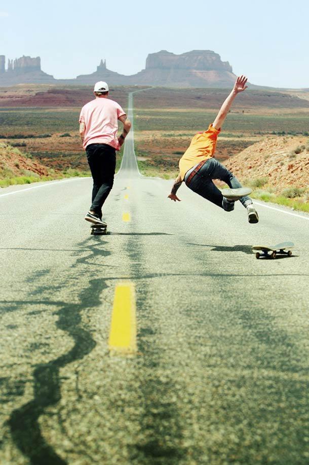 Skate fail