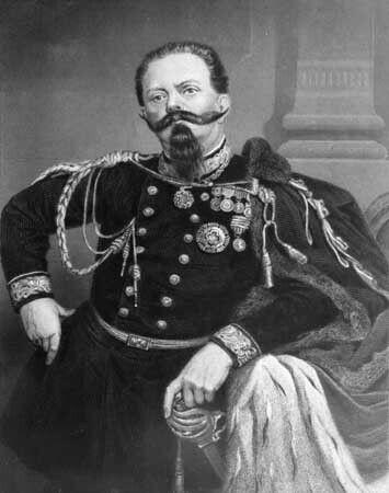 King Victor Emmanuel II of Italy