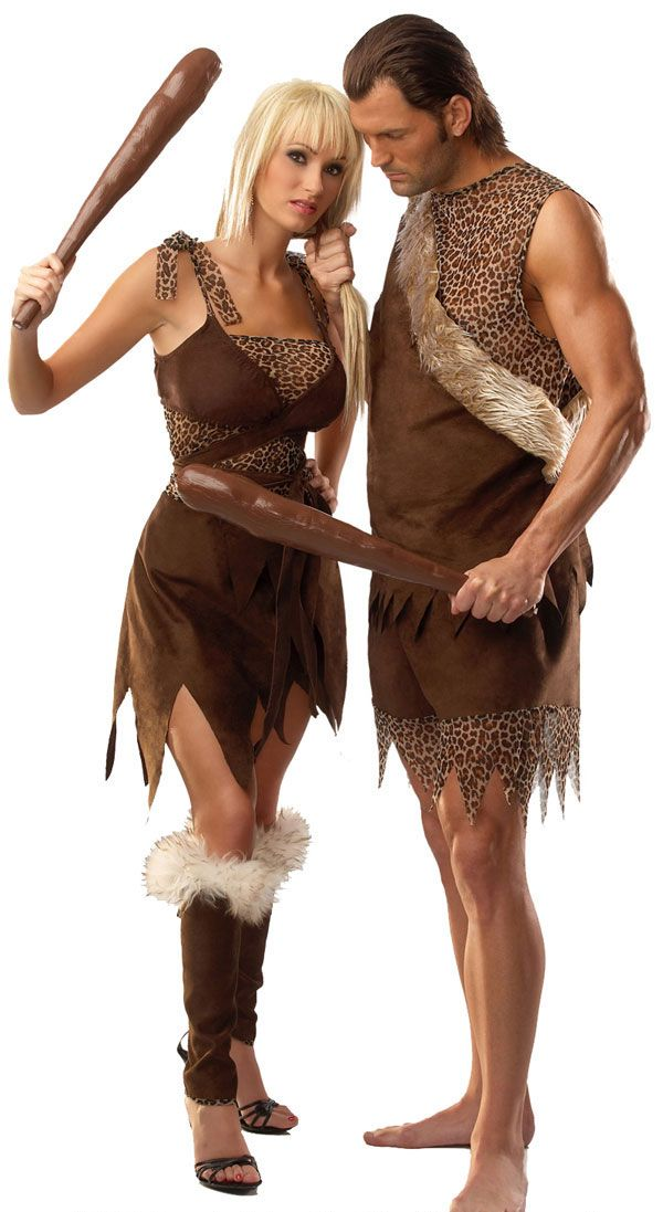 Caveman And Cavewoman Costumes