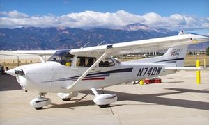 Groupon - Standard Introductory Flight for One or Two at Peak Aviation Center (Up to40%Off)  in Colorado Springs Airport. Groupon deal price: $76