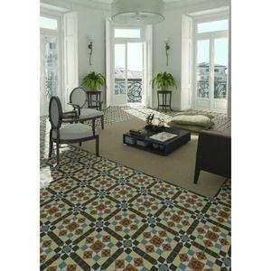 Love the tiled floor
