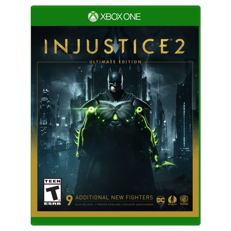 Injustice 2: Ultimate Edition XBox One Video Game