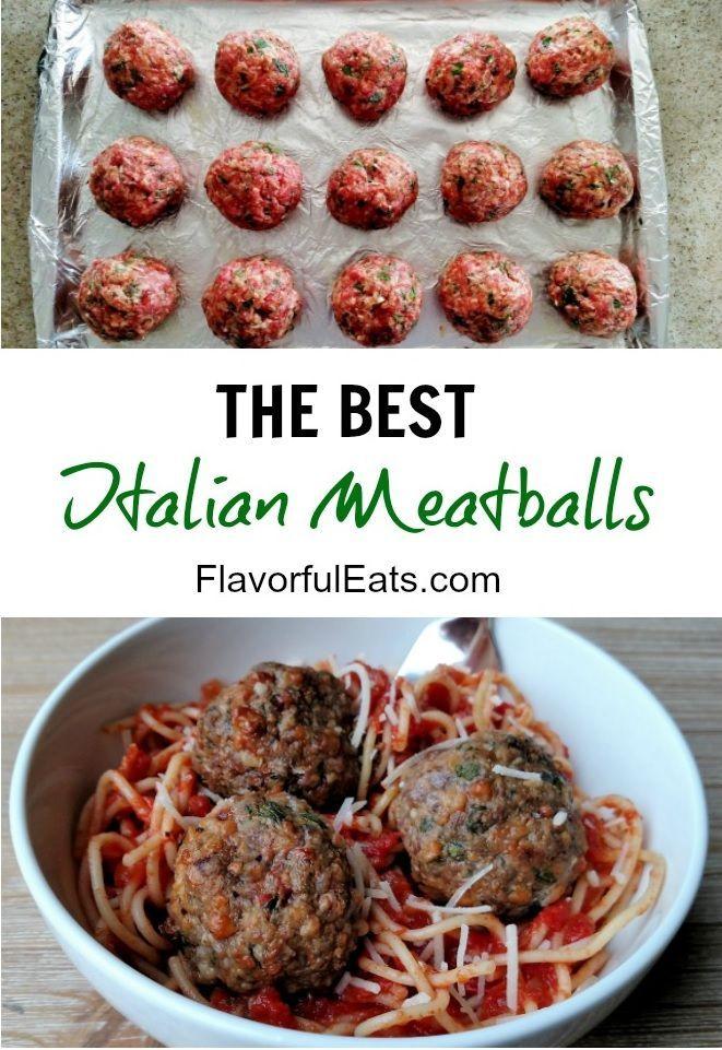 The Best Italian Meatballs Flavorfuleats Recipe Sausage Meatballs Recipes Italian Meatballs Italian Meatballs Recipe