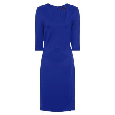 HotSquash Royal Blue Pimlico Ponte Dress | Debenhams