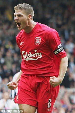 Steven Gerrard 1 off the greatest