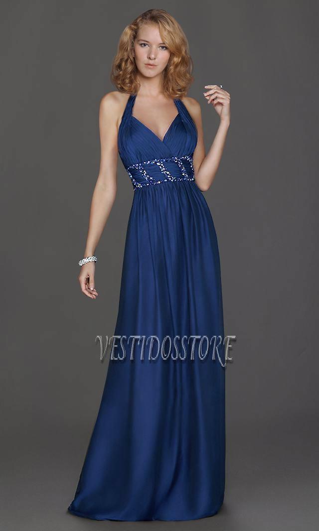 Vestidos largos de fiesta son más formal y elegante.