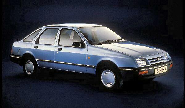 The cars : Ford Sierra development history - AROnline
