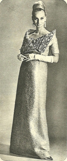 Christian Dior by Classic Style of Fashion (Third), via Flickr 1965