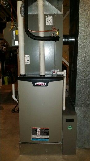 98 Efficient Furnace Installed On A 6 Inch Return Box