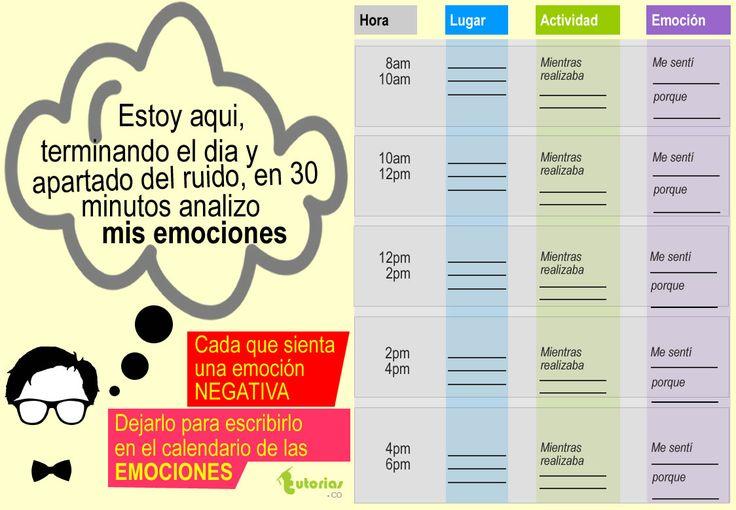 El calendario de las emociones.