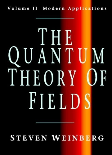 Bestseller Books Online The Quantum Theory of Fields, Volume 2: Modern Applications Steven Weinberg $49.51  - http://www.ebooknetworking.net/books_detail-0521670543.html