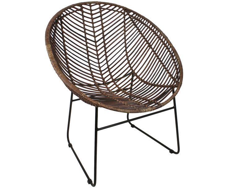 Mit Rattan-Sessel Cocon in Braun verwandeln Sie Ihr Wohnzimmer in eine Wohlfühloase. Entdecken Sie weitere hochwertige Möbel auf >> WestwingNow.
