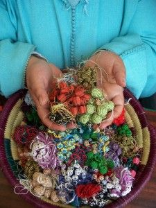 Amina Yabis founded the Sefrou Women's Silk Button Cooperative, called Cherries in Morocco.: Buttons Silk, Moroccan Middle Eastern, Women Silk, Women Cooper, Buttons Cooper, Silk Buttons, ᗰYthical ᗰOrocco, Morocco, Moroccan Women
