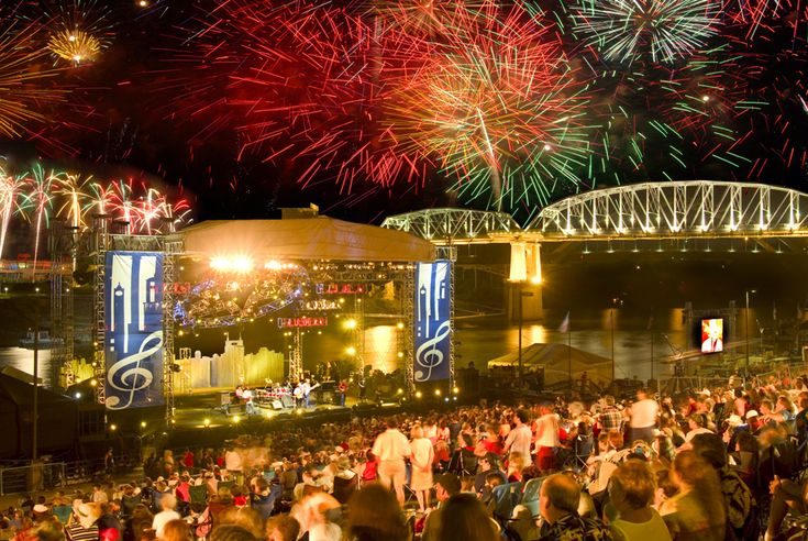 Nashville's 2012 Let Freedom Sing! July 4th lineup includes The Mavericks, Craig Morgan, Sarah Darling, the Music City Hit-Makers and the Nashville Symphony