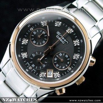 BUY Casio Edifice Sheen Pair Design Ladies Watch SHN5003P SHN-5003P-1A - Buy Watches Online | CASIO NZ Watches