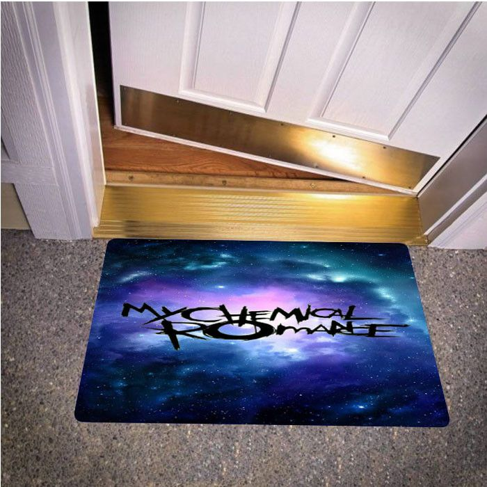 MY CHEMICAL ROMANCE BEDROOM CARPET BATH OR DOORMATS