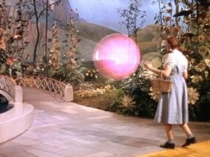 Glinda the Good Witch of the North. The Wizard of Oz, 1939.