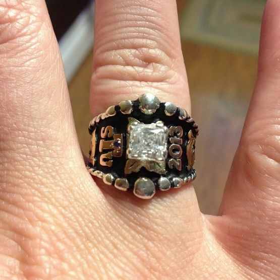 Texas State University Class Ring