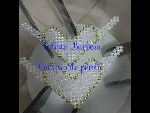 Manta coração e pérola - YouTube
