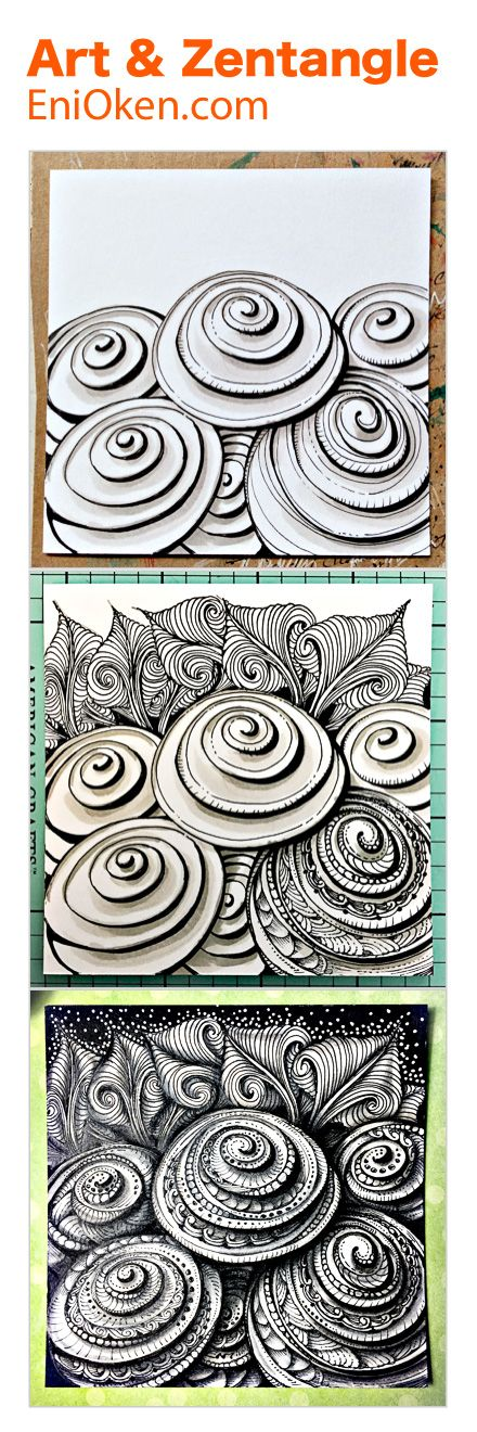 Zentangle Art • enioken.com