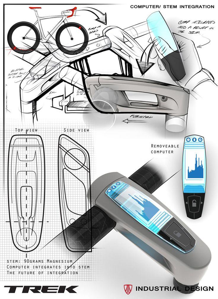 Bontrager computer/stem integration concept / Trek