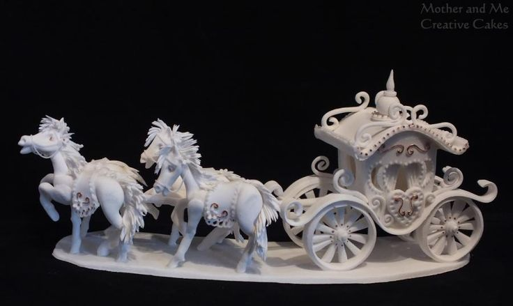 Our take on Fairytale Carriage and Horses (from Tutorial Yener's Way) - Cake by Mother and Me Creative Cakes