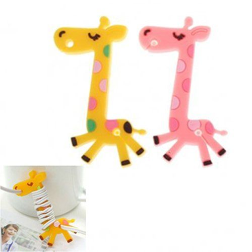 Giraffa per avvolgere cuffie/auricolari