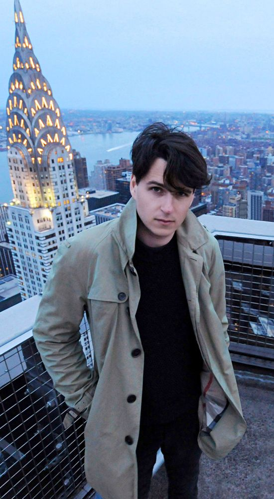 I admire Ezra Koenig for his amazing voice,  devotion, and adorable sense of humor.