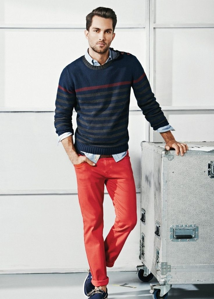 17 Best images about Wearing Red on Pinterest | Red jackets, Men ...
