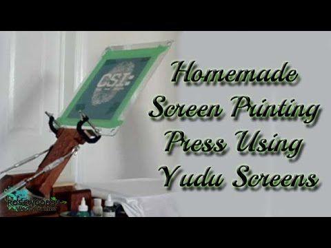 Home Screen Printing Equipment - Bing video