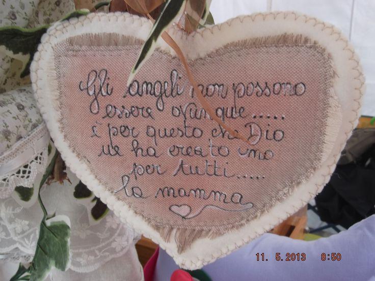 CUORE DELL'ANGELO CUSTODE DELLA MAMMA