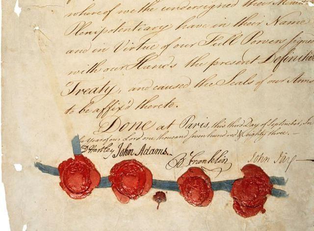 American Revolution: Treaty of Paris (1783): Treaty of Paris, 1783