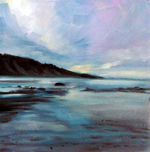 """Low Tide Light"" - Original Fine Art for Sale - © Cietha Wilson"