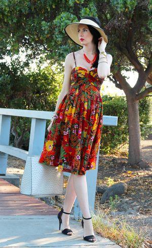 麦わらのサンバイザーで大人の女性らしさ♡おしゃれなサンバイザーコーデのスタイル・ファッション♪
