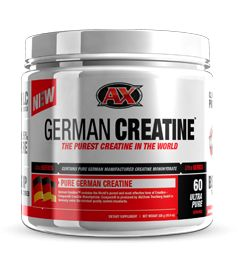 The Purest, Safest, & Most Effective Creatine Available. Creatine Monohydrate is the most studied and documented supplement for muscle growth, and unlike other brands German Creatine is 99.95% pure. If you only took one supplement ever for muscle growth, it might definitely be creatine. German Creatine is for athletes who take creatine and want to ensure purity so their creatine is free from harmful contaminants and contains exactly what is on the label.