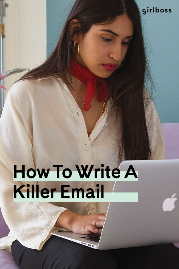 How To Write An Email No Seriously