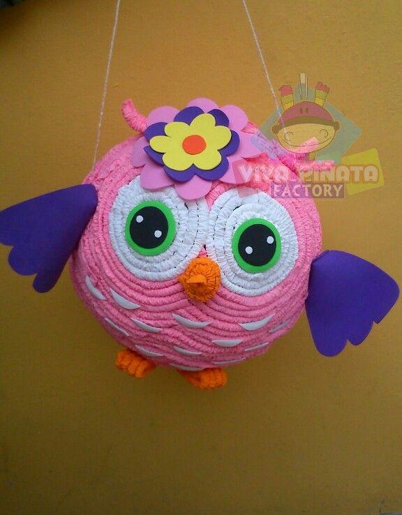 Una hermosa piñata de Búho y les adelantamos que gracias a dios ya estamos trabajando en nuestra tienda física. PROXIMAME