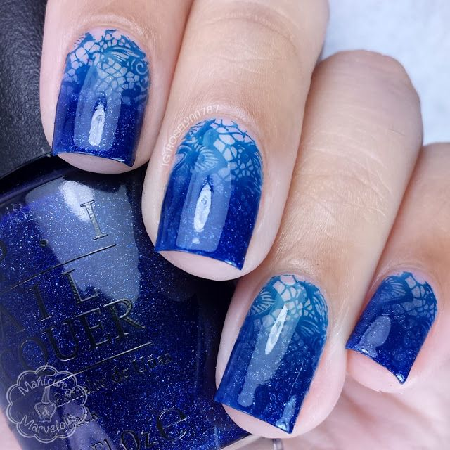 OPI Starlight and Preen.Me VIP Nail Art - Week 3