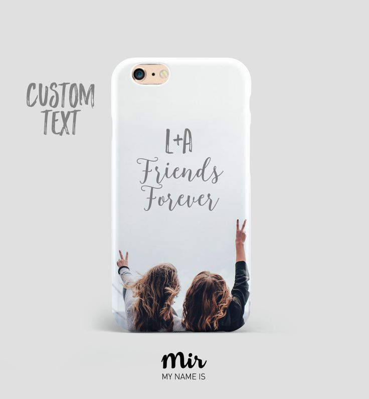 Funda Carcasa Móvil Custom Personalizada Regalo Boda Amigos Fotografía Foto - Funda iPhone 6 6s Plus, iPhone 5 5S 5C, Samsung Galaxy S6 de MyNameIsMir en Etsy