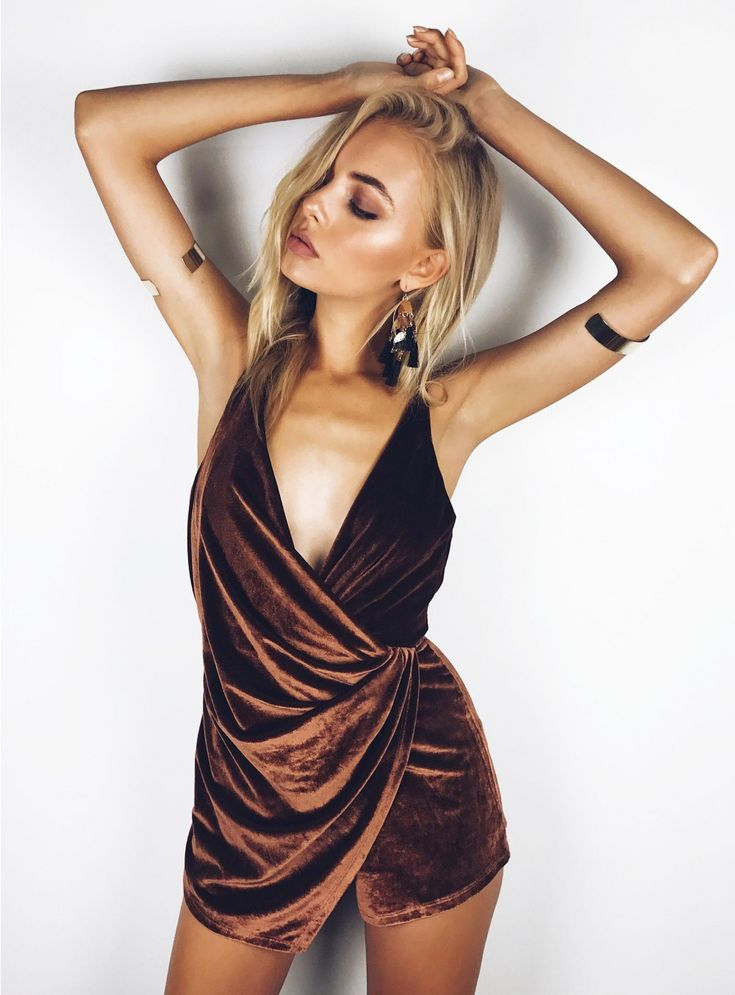 Stolen Dance Velvet Playsuit