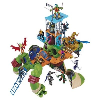 Teenage Mutant Ninja Turtles 24 Inch Leonardo Turtle Playset