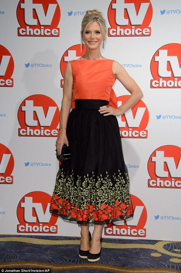 Bow-tiful! Emilia Fox managed to reign supreme in the style stakes at the TV Choice Awards, held at London's Hilton Park Lane hotel on Monday evening