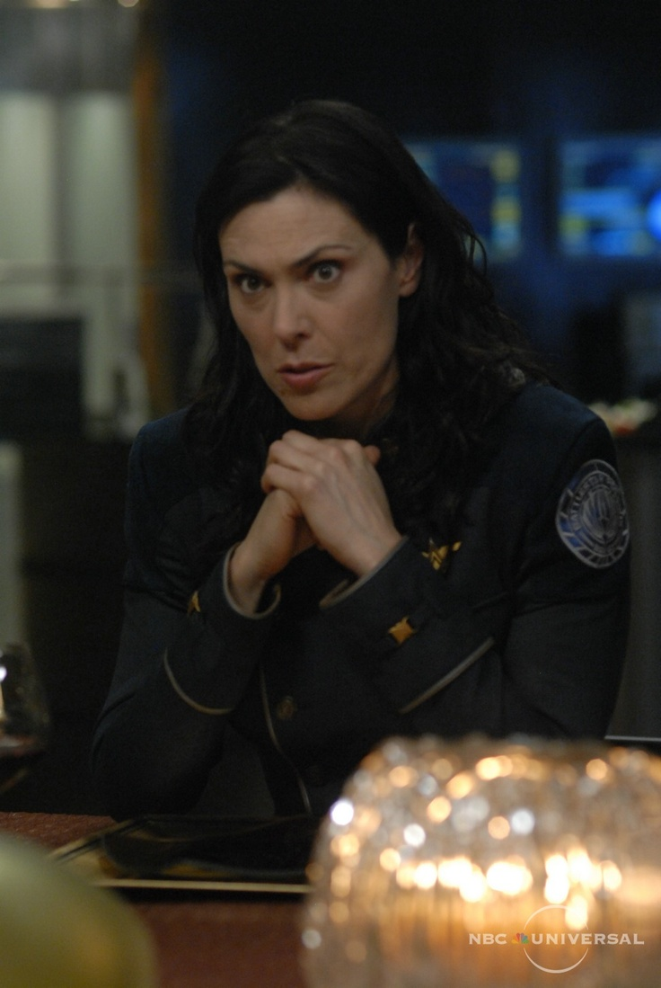 Helena Cain played by the awesome Michelle Forbes ... Michelle Forbes Battlestar Galactica