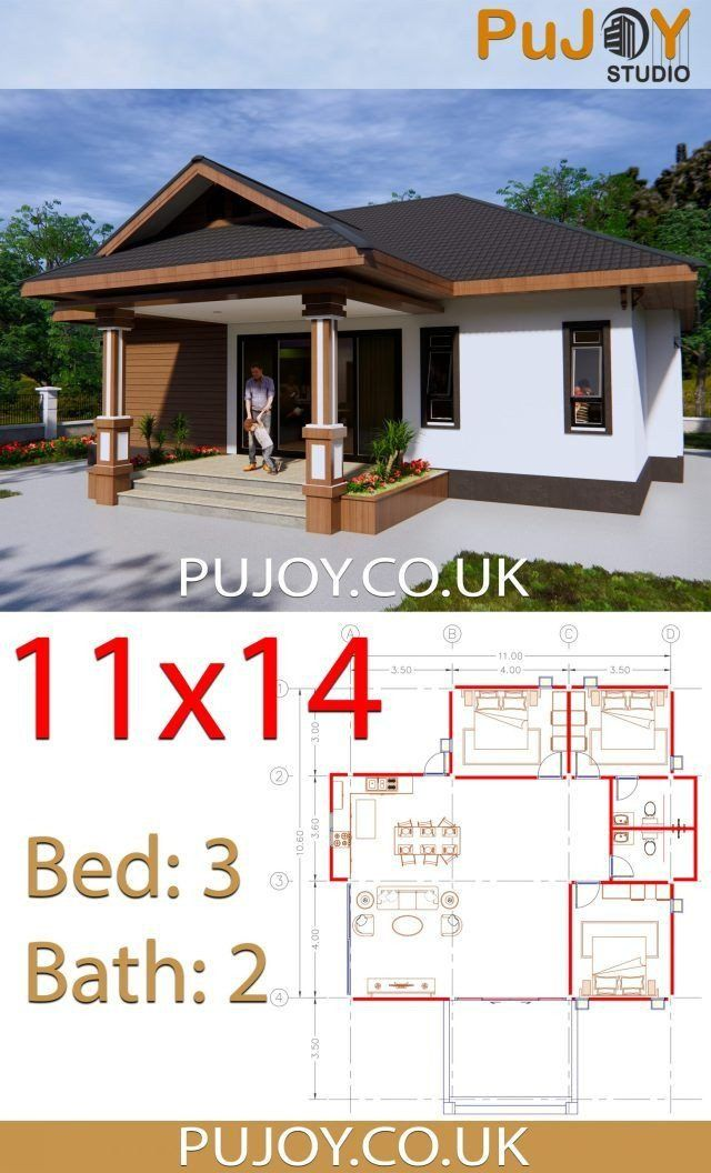 Modern House Design Plans Uk House Plans 11x14 With 3 Bedrooms Hip Roof House Plans Hip Roof Small Modern House Plans