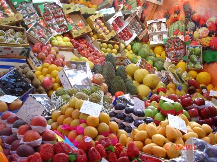 Frutas do Mercadão em São Paulo
